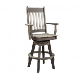 Conestoga Poly Swivel Patio Arm Chair