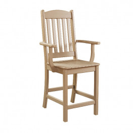 Sunnyside Poly Balcony Arm Chair