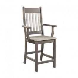 Conestoga Poly Balcony Arm Chair