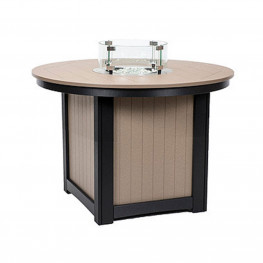 Berlin Gardens Donoma 44in Round Fire Table Dining