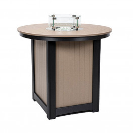 Berlin Gardens Donoma 44in Round Fire Table Bar