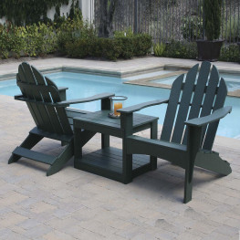 Eagle One - Double Adirondack Chair With Table