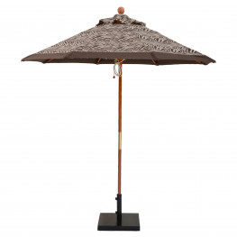 7 1/2 ft  Wooden Market With Pulley & No Tilt