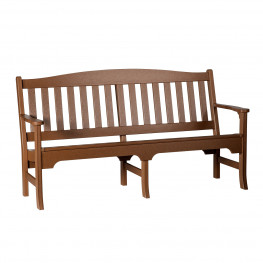 Amish Poly Avonlea 72 in Garden Bench