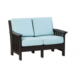 Finch Amish Poly Mission Deep Seating Love Seat