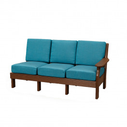 Amish Poly Van Buren Right Sofa Section