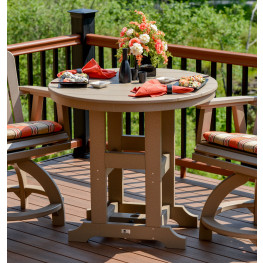 Garden Classic 38 in Round Table - Dining, Counter or Bar Height