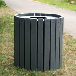 Heavy Duty Round Receptacle - 32 gal