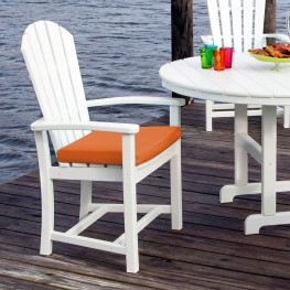 POLYWOOD Palm Coast Dining Arm Chair