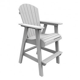Malibu Outdoor Hyannis Bar Chair