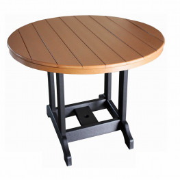 Indiana Amish Poly 48in Round Balcony Table