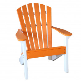 Indiana Amish Poly Beachcrest Adirondack Chair