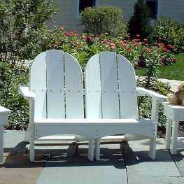 Kids Double Adirondack Chair
