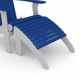 Loggerhead Folding Adirondack Chair Ottoman