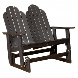 Little Cottage Classic Adirondack Glider