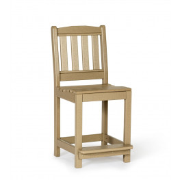 Amish Poly Wood English Garden Counter Height Side Chair