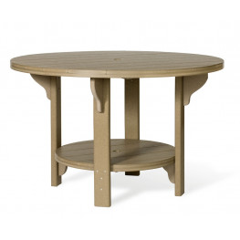 "Amish Poly Round 48"" Dining Table"