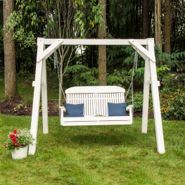 Luxcraft / Crestville® Classic Highback 4 ft. Swing Set