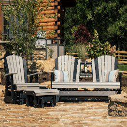 Luxcraft / Crestville® Adirondack 3 pc. Glider Seating Set
