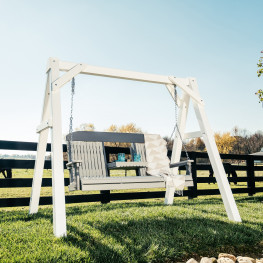Luxcraft / Crestville® Classic Highback 5 ft. Swing Set