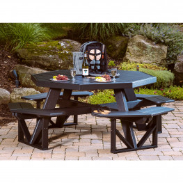 Luxcraft / Crestville® Octagon Picnic Table
