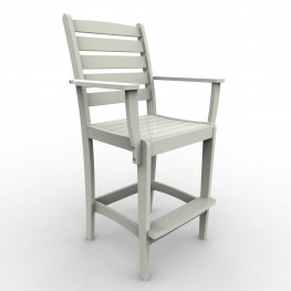 Malibu Outdoor Maywood Bar Chair   (Sold in Pairs)
