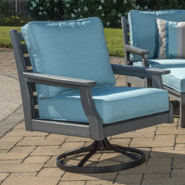 Malibu Outdoor Maywood Swivel/Rocker Chair