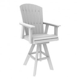 Malibu Outdoor Hyannis Bar Swivel Chair