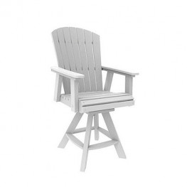 Malibu Outdoor Hyannis Counter Swivel Chair