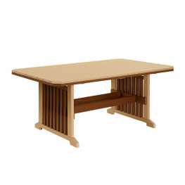 Amish Poly 44x96 Mission Table