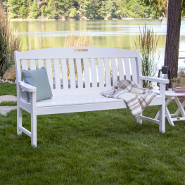 POLYWOOD® Nautical 60in Bench