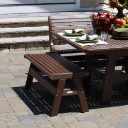 Malibu Outdoor Newport 48 in Backless Bench