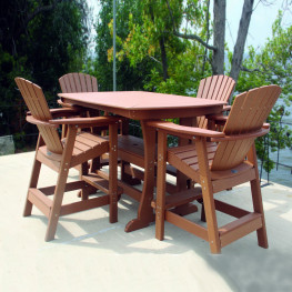 Perfect Choice Adirondack Bar Height Chair