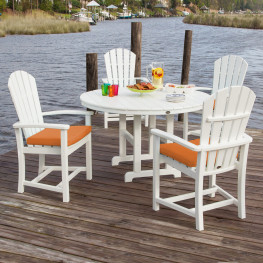 POLYWOOD Palm Coast 5 Piece Dining Set
