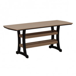 Casual Comfort Poly Lumber 28 x 72 Bayshore Dining Table