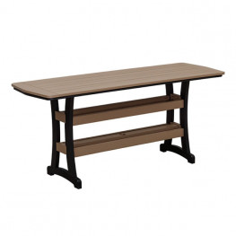 Casual Comfort Poly Lumber 28 x 84 Bayshore Counter Table