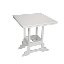 Casual Comfort Poly Lumber 36in Oceanside Bar Table -  Square