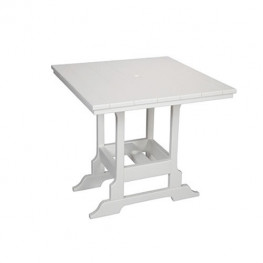 Casual Comfort Poly Lumber 36in Oceanside Counter Table - Square