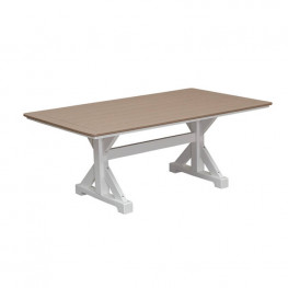 Casual Comfort Poly Lumber 40in x 72in Table