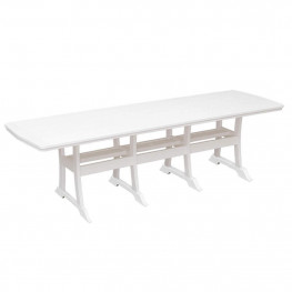 Casual Comfort Poly Lumber 40 x 120 Oceanside Counter Table