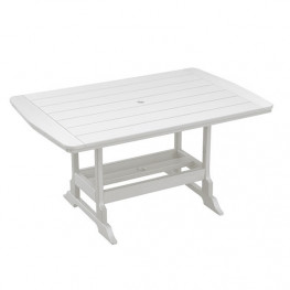 Casual Comfort Poly Lumber 40 x 60 Oceanside Counter Table