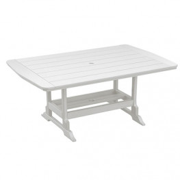 Casual Comfort Poly Lumber 40 x 84 Oceanside Counter Table
