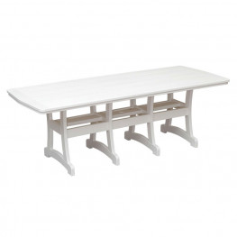 Casual Comfort Poly Lumber 40 x 96 Oceanside Counter Table