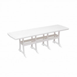 Casual Comfort Poly Lumber 40 x 96 Oceanside Bar Table