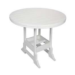 Casual Comfort Poly Lumber 42in Oceanside Bar Table - Round