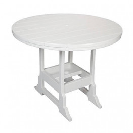 Casual Comfort Poly Lumber 42in Oceanside Counter Table - Round