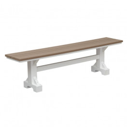 Casual Comfort Poly Lumber 6' Bench
