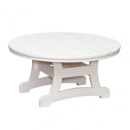 Casual Comfort Poly Lumber Bayshore 36in Conversation Table - Round