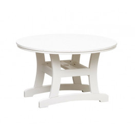 Casual Comfort Poly Lumber Bayshore 42in Dining Table - Round