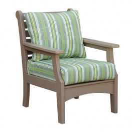 Casual Comfort Poly Lumber Duralux Club Chair